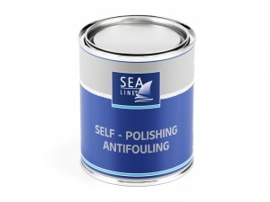 Sea-Line farba antyporostowa SELF – POLISHING ANTIFOULING 750ml czarna